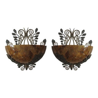Maitland Smith Penshell Sconces - Pair