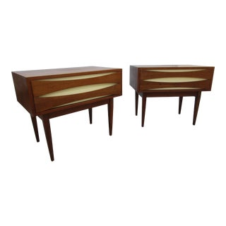 West Michigan Furniture Co. Nightstands - A Pair