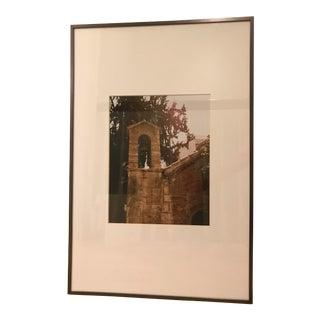 Framed Original Photograph of Athens Building