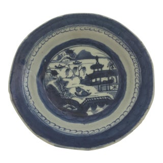 Chinese Canton Hand-Painted Bowl