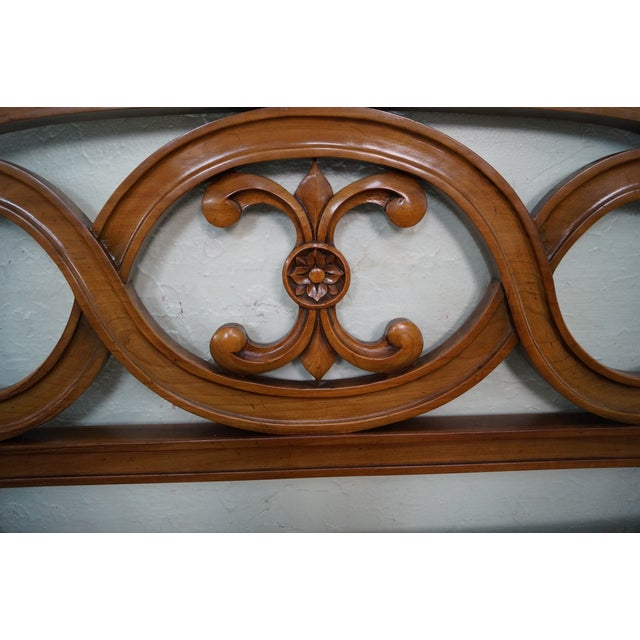 Widdicomb French Style King Size Headboard - Image 3 of 10