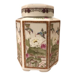 Andrea by Sadek Hummingbird Ginger Jar