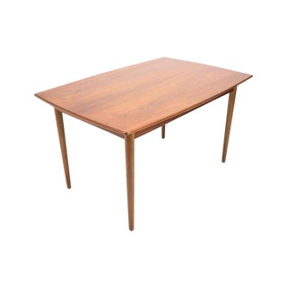 Kurt Ostervig Teak Draw Leaf Dining Table