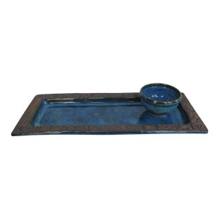 Hand-made Nautical Serving Tray and Bowl