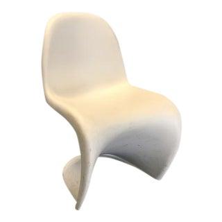 Danish Modern White Panton Chair
