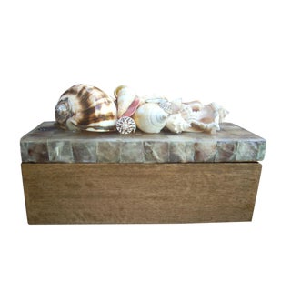 Philippine Mosaic Shell Box