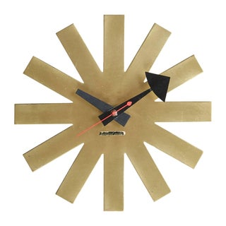Asterisk Clock by George Nelson Circa 1953