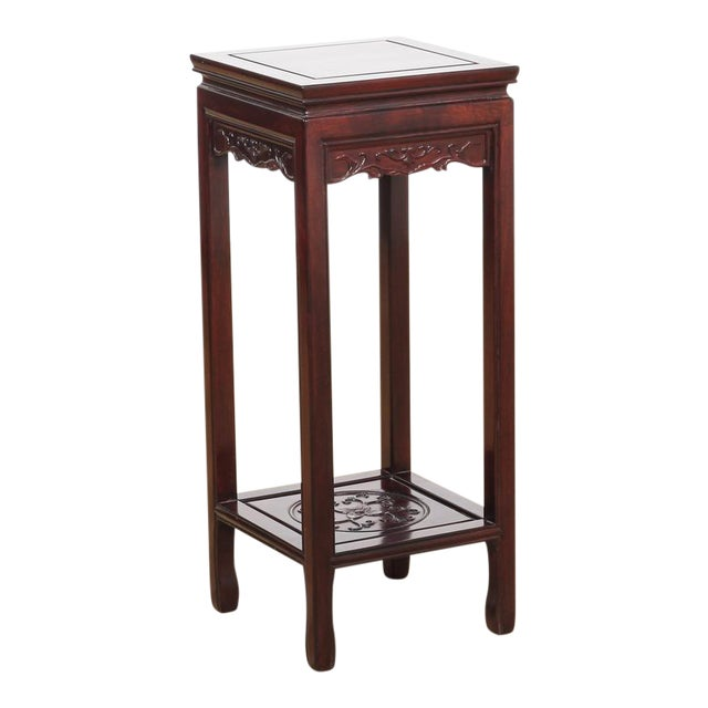 20th century rosewood side table chairish for Table th width ignored
