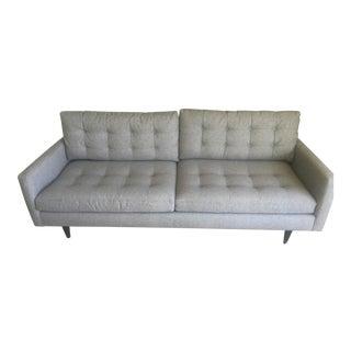 Crate & Barrel Modern Petrie Couch