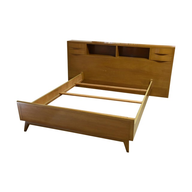 Image of Red Lion Bleached Mahogany Full Bed