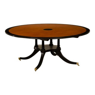 Sheraton Style Round Dining Table