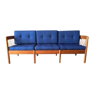 Mid-Century Danish Teak Sofa