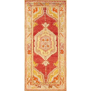 """Pasargad Vintage Anatolian Hand-Knotted Wool Area Rug- 3' X 6' 9"""""""