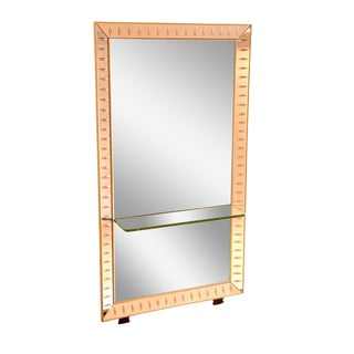 Cristal Art Mirror & Glass Console