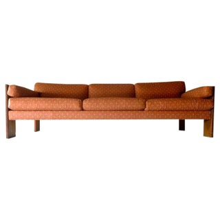 Long & Low Mid Century Modern Sofa