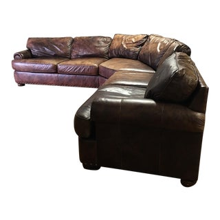 Century Furniture Leather Sectional
