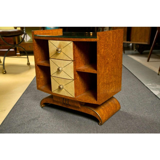 Art Deco Style Nighstands Tables - A Pair - Image 3 of 9