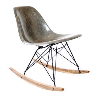 Herman Miller Grey Rocking Chair