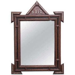 Tramp Art Mirrors c. 1910 - A Pair