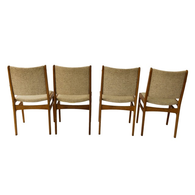 Vintage D-Scan Danish Teak Chairs - Set of 4 - Image 8 of 10