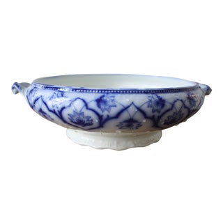 English Blue & White Bowl