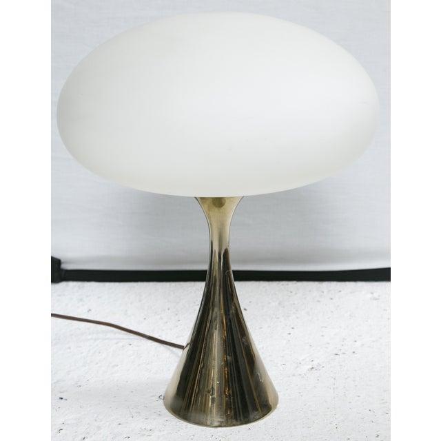 Bill Curry for Laurel Brass Mushroom Lamp - Image 2 of 5