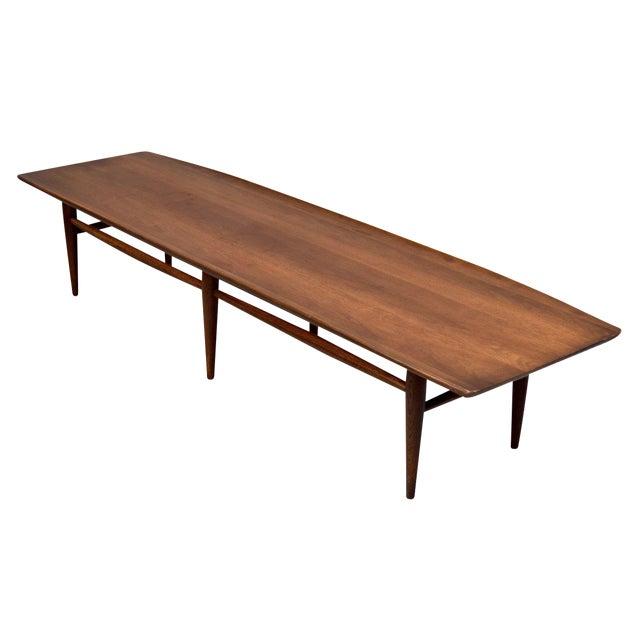 Mid Century Surfboard Coffee Table By Bassett Chairish