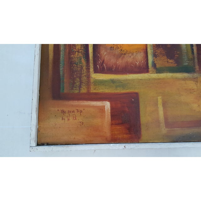 """Image of """"The Next Trip"""" Painting by W.B. '70"""