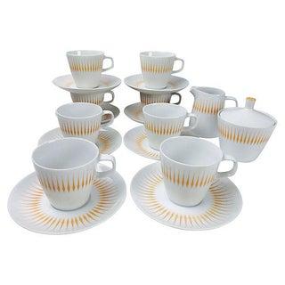 Midcentury Design Tea Set - Set of 8