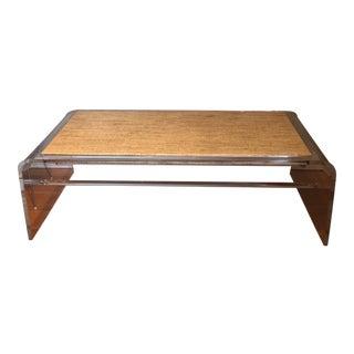 Mid-Century Modern Acrylic Coffee Table