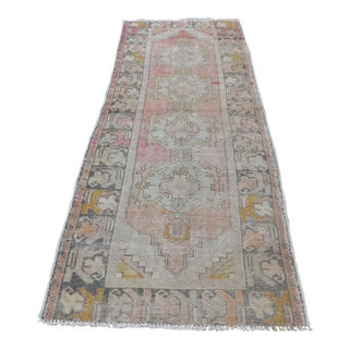 Turkish Oushak Runner Rug - 2′11″ × 8′6″