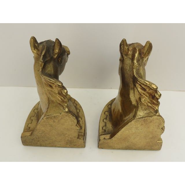 Horse Head Bookends- A Pair - Image 5 of 7