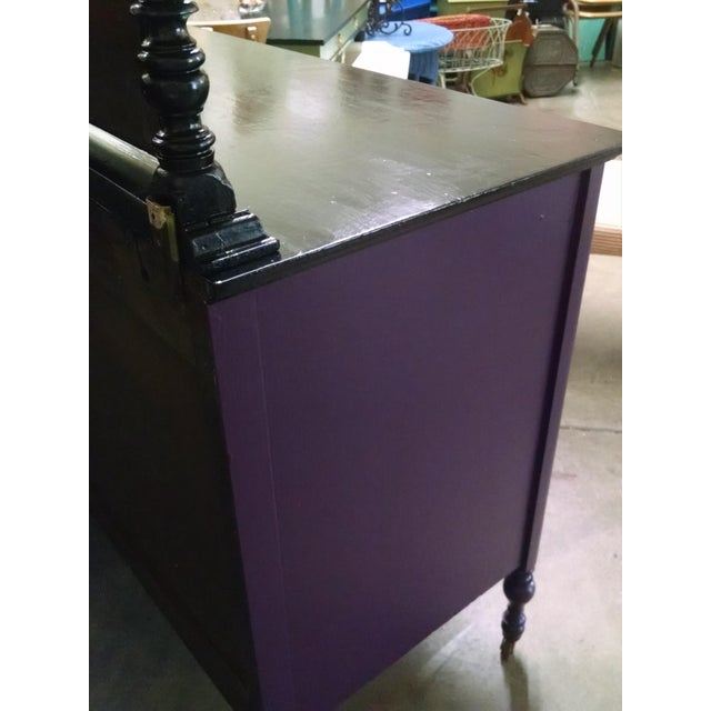 1950s Vintage Dresser With Mirror - Image 7 of 10