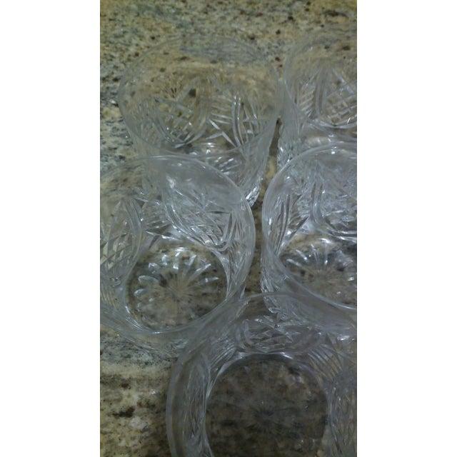 Vintage Etched Rocks Glasses - Set of 4 - Image 7 of 11
