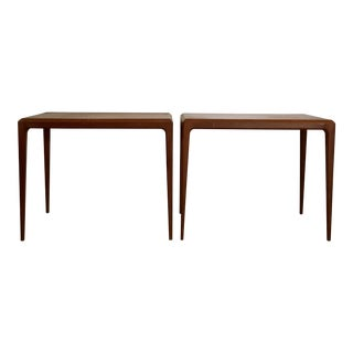 Johannes Andersen Danish Side Tables - A Pair
