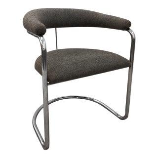 Vintage Thonet Chrome Cantilever Chair