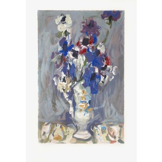 Eugene Baboulene, Le Vase De Fleurs, Lithograph
