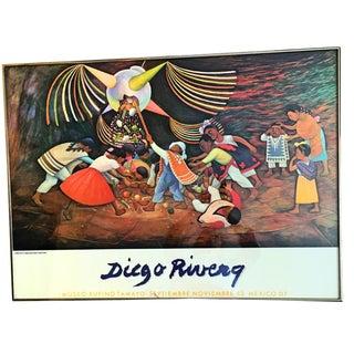 1983 Diego Rivera Poster