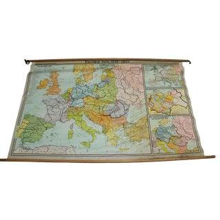 Europa Von Map, 1918-1945