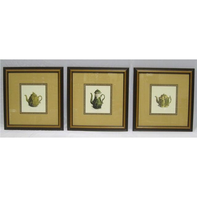 Image of Sarreid LTD Framed Drawings of Vintage Pitchers - Set of 3