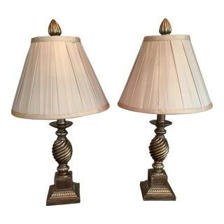 Gilt Lamps - A Pair