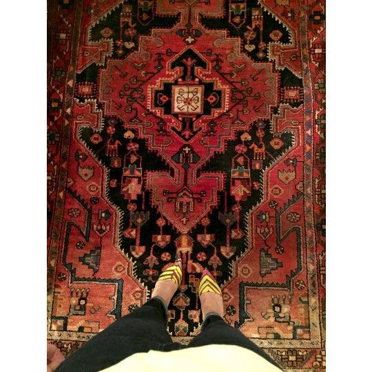 "Vintage Persian Rug - 4'4"" x 7'5"" - Image 6 of 6"