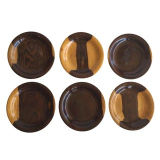 Brazilian Wooden Coasters - Set of 6