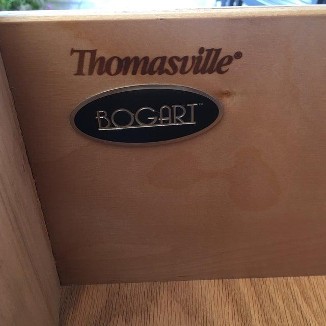 Image of Thomasville Bogart Burlwood Armoire