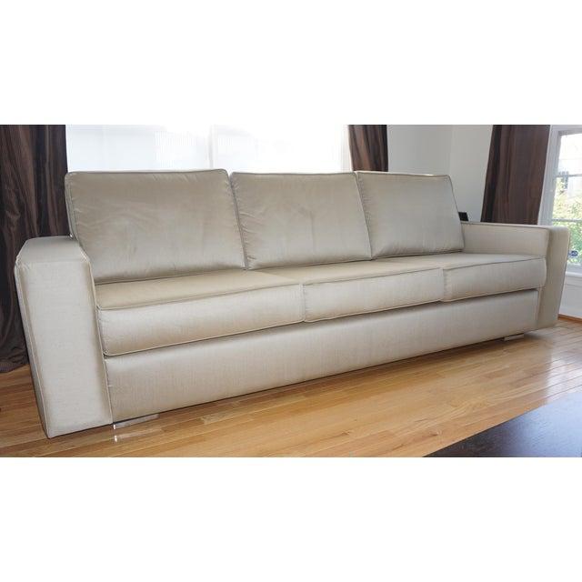 Artefacto Silk Upholstered Sofa Chairish