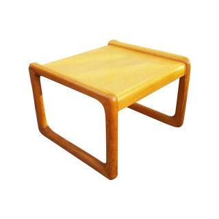 Mid-Century Modern Wood Minimalist Side Table