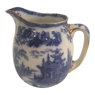 Flow Blue Milk Pitcher