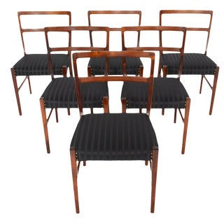 Harry Østergaar Rosewood Dining Chairs - Set of 6