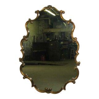 Rococo Modern Wood Framed Mirror