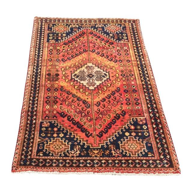 Antique Qashgi Persian Rug